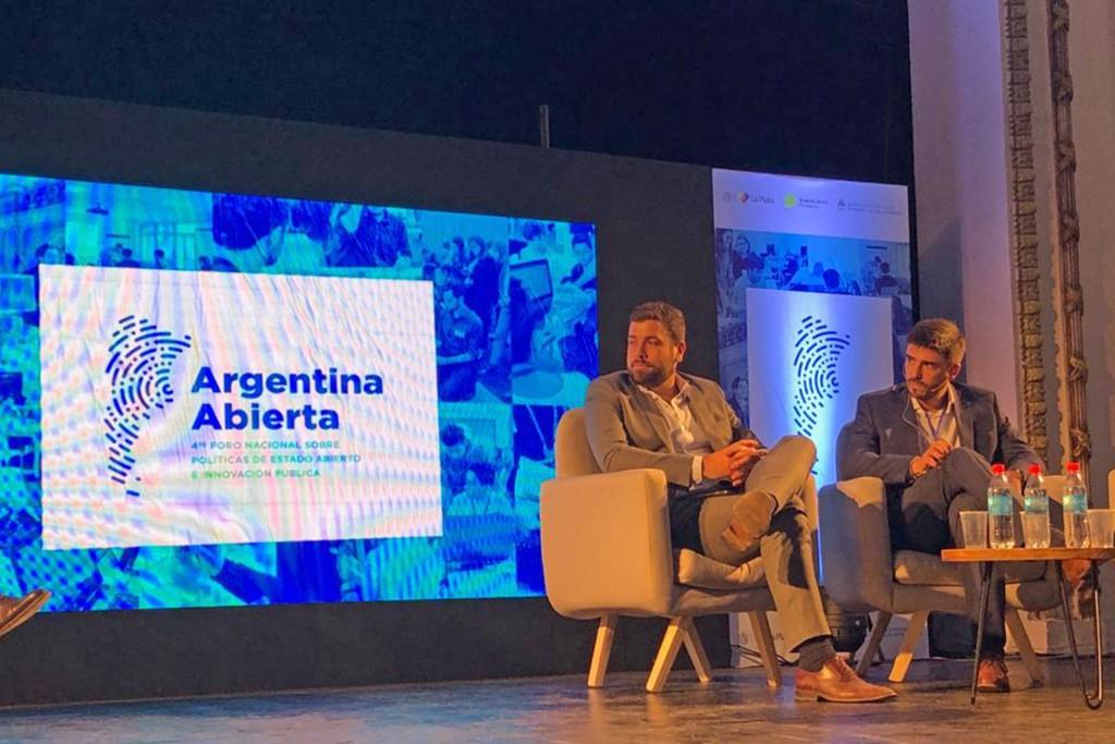 """Ezequiel Galli disertó en el Cuarto Encuentro Federal """"Argentina Abierta"""""""
