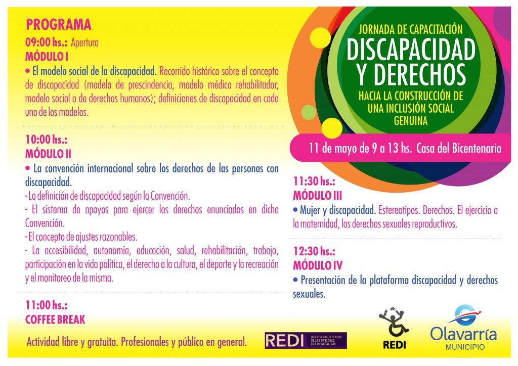 """Anuncian jornada sobre """"Discapacidad y Derechos: hacia la"""
