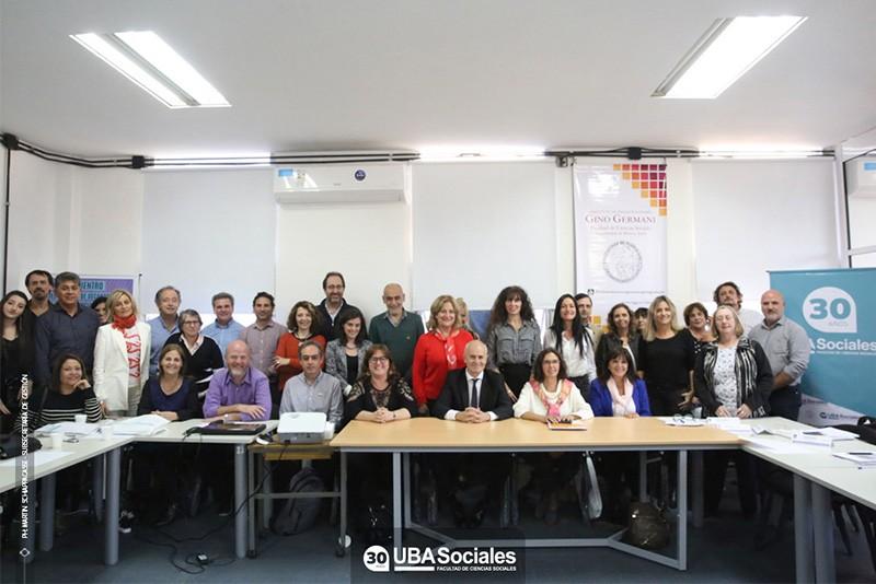 Sociales presente en el XXXII Encuentro del CODESOC