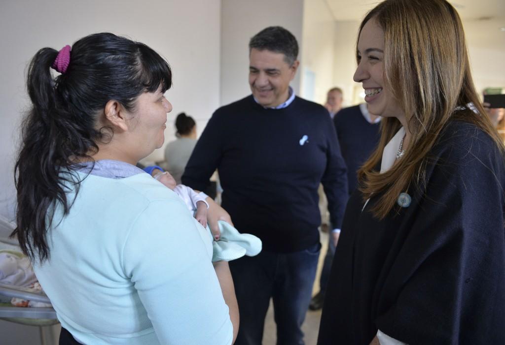 """Vidal visitó Vicente López y se reunió con beneficiarios del programa """"Garantizar Tu Identidad"""""""