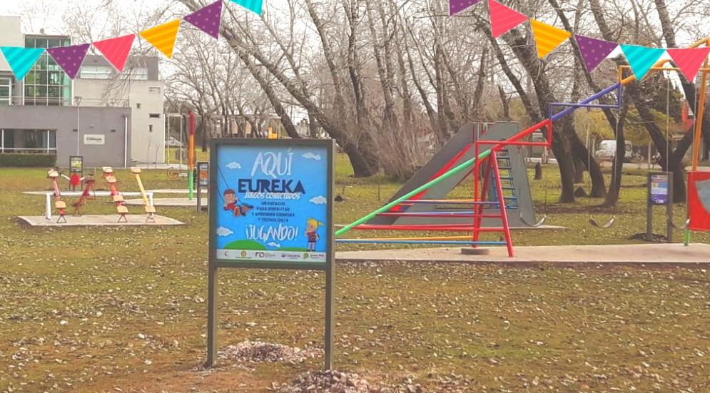Se inaugura la primera plaza científica de Olavarría