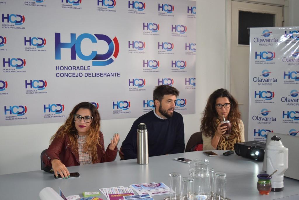 Capacitación sobre Ley Micaela en el HCD