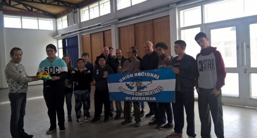 Soldados Continentales visitaron la Escuela Nº16