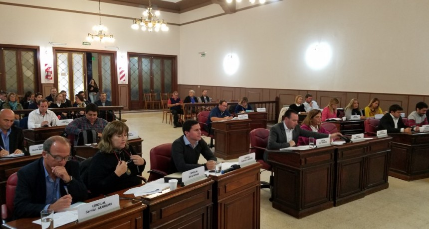Sesionó el Concejo Deliberante de manera especial