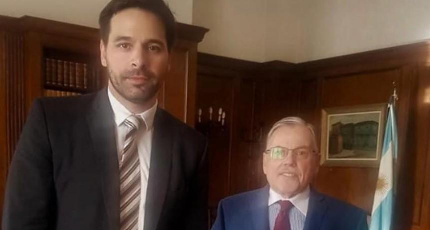 Dr. Gastón Argeri se reunió con el presidente de la Suprema Corte de Justicia de la provincia de Buenos Aires