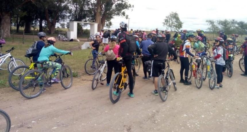 Recorrido en rollers y bicicleta por las calles olavarrienses