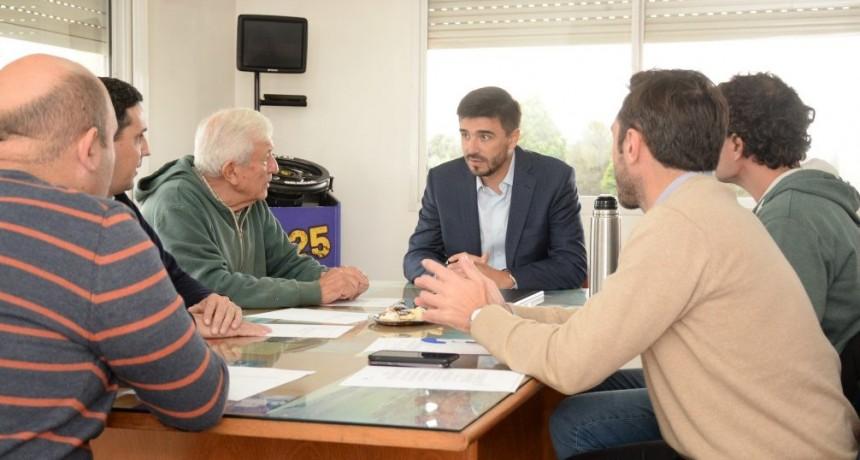 Galli se reunió con la nueva comisión del PIO