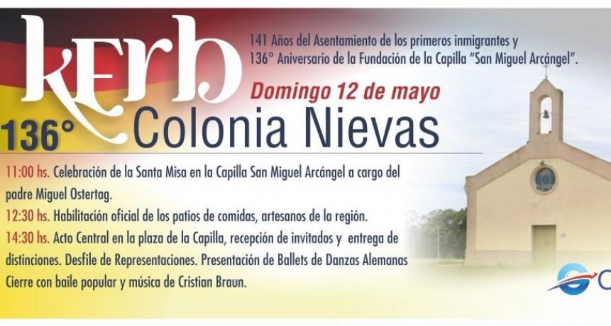 Colonia Nievas celebra la Fiesta de la Kerb