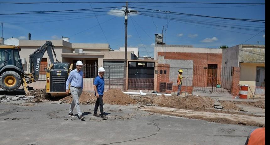 Liberación al servicio público de la red cloacal en Villa Floresta y General Belgrano