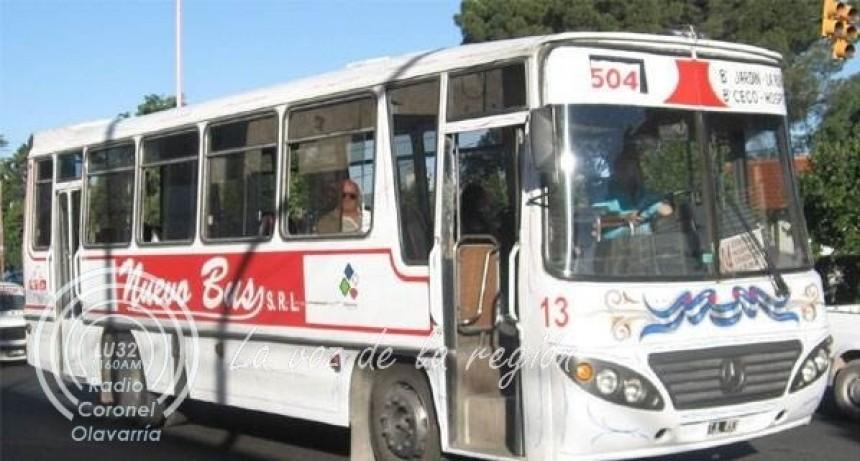 Más de veinte trabajadores de Nuevo Bus no cobraron los haberes de abril