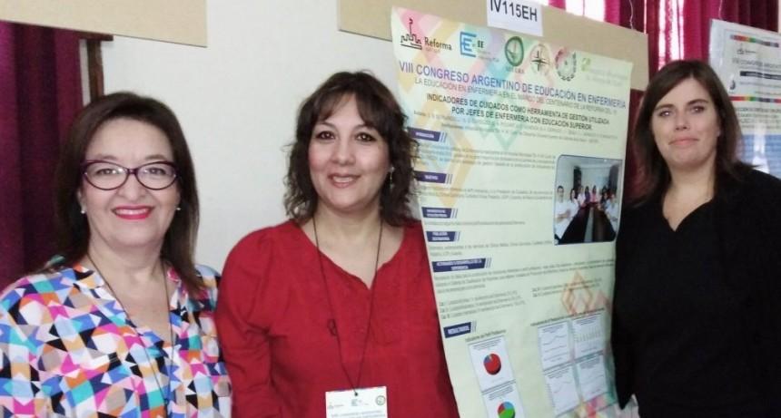 Destacada participación olavarriense en el VIII Congreso Argentino de Educación en Enfermería