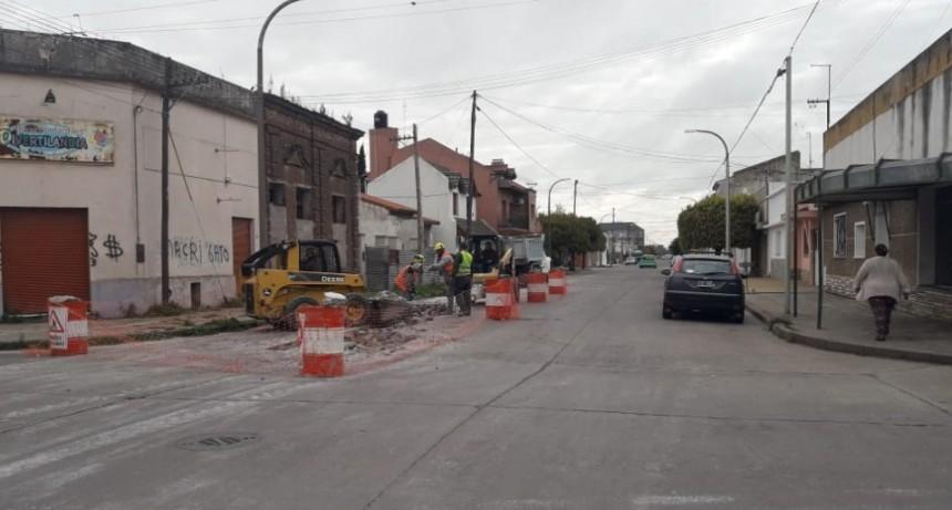Recambio de cañerías de agua en Pueblo Nuevo