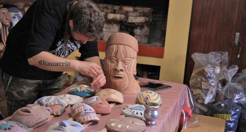 Exposición-Taller en la Escuela Municipal de Cerámica de Sierras Bayas