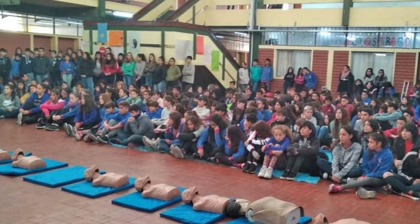 Olavarría Ciudad Cardioprotegida: nueva capacitación en RCP