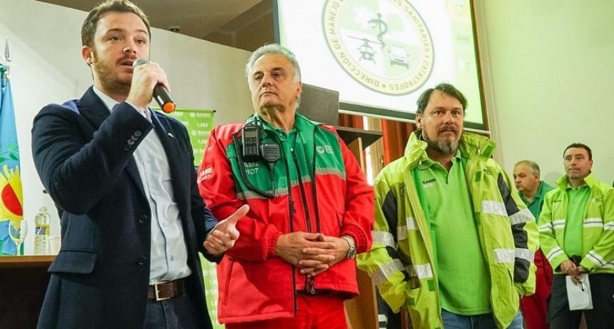El SAME provincia capacitó a 400 conductores de ambulancias