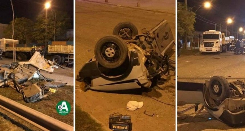 Monte: al menos cuatro jóvenes perdieron la vida en trágico accidente