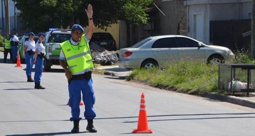 Informe semanal de tránsito: cinco casos de alcoholemia positiva