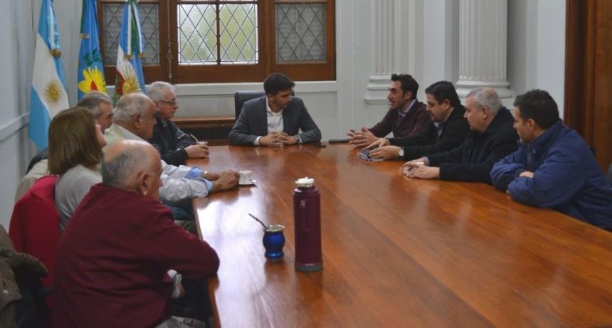 Reunión de trabajo entre el Municipio y el sector minero