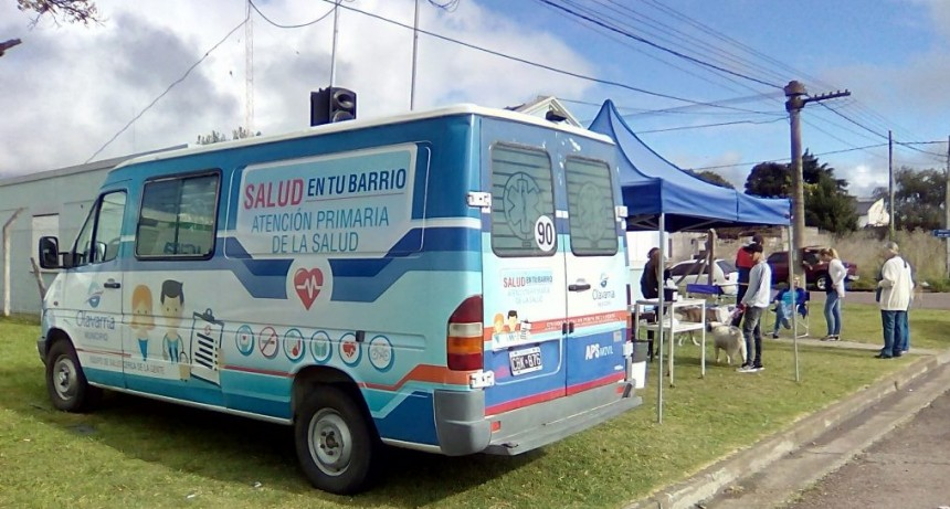 Cambian hora de la jornada sanitaria en Villa Mailín