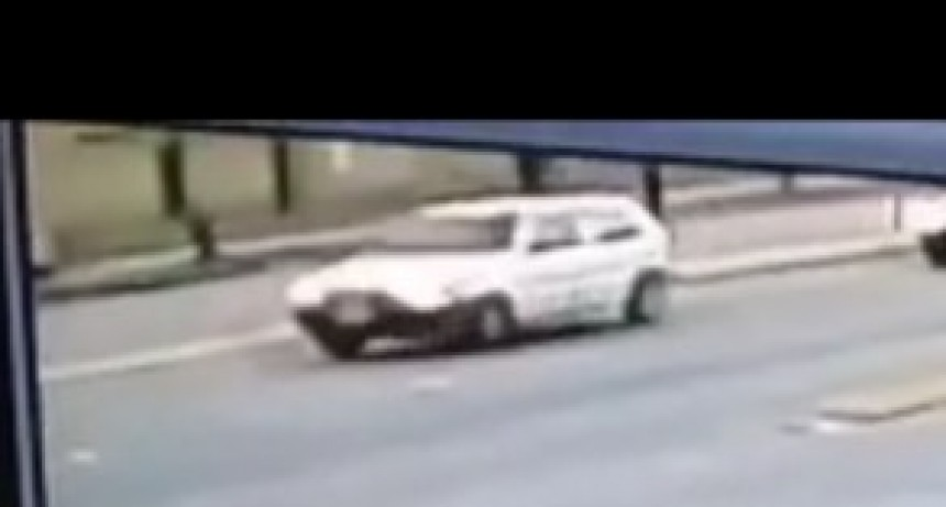 Hecho de tránsito y fuga del martes: periciaron el auto