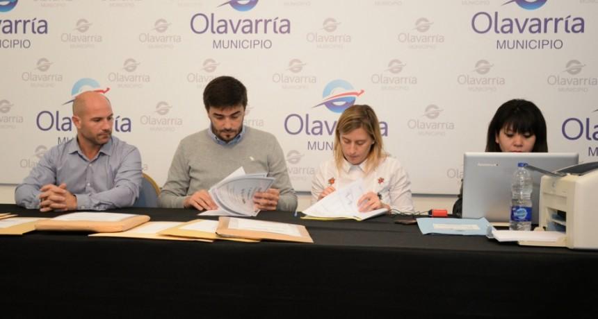 Cloacas H.Yrigoyen: el intendente Galli encabezó la apertura de sobres de la licitación