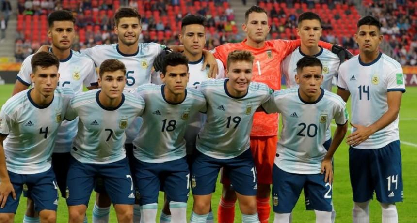 Argentina goleó en su debut en el Mundial Sub 20