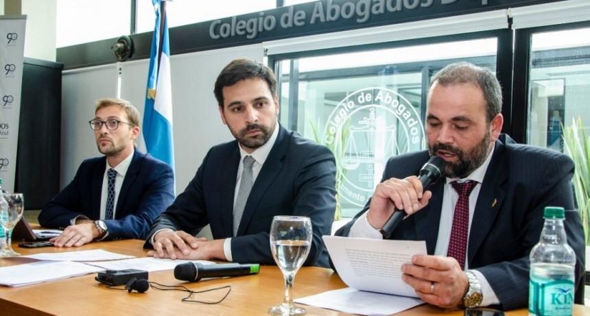 Azul: Hubo Asamblea General Ordinaria  en el Colegio de Abogados