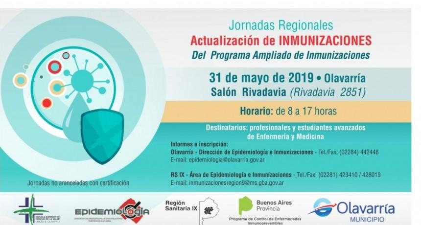 Olavarría será sede de las Jornadas Regionales de Actualización de Inmunizaciones