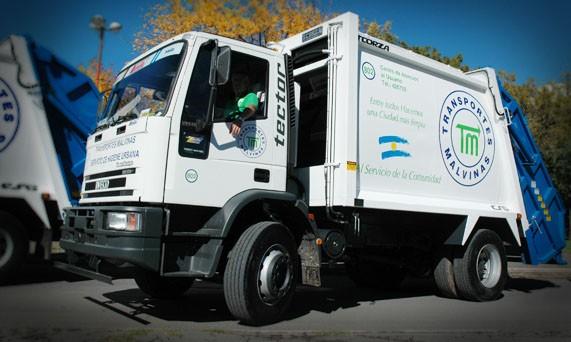 Transportes Malvinas: cambio en la recolección en un sector de la ciudad