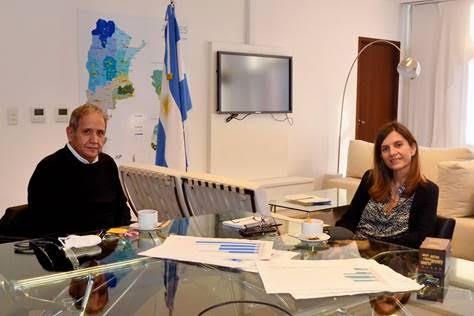 ANSES: Raverta mantuvo una reunión con  Palazzo