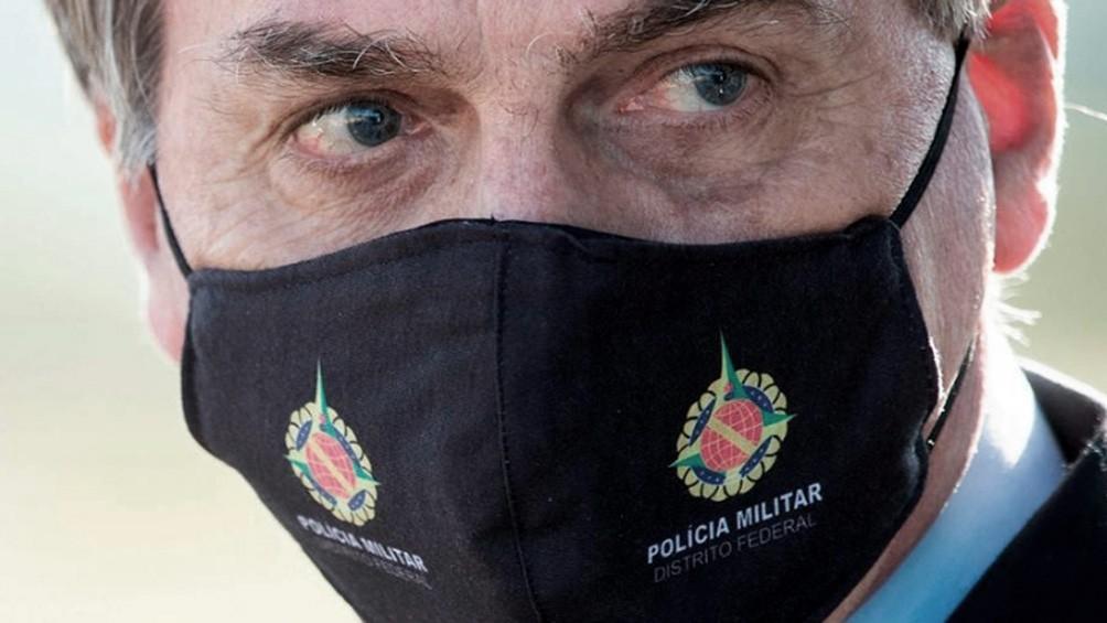Bolsonaro, molesto por diferencia de muertos con Argentina: