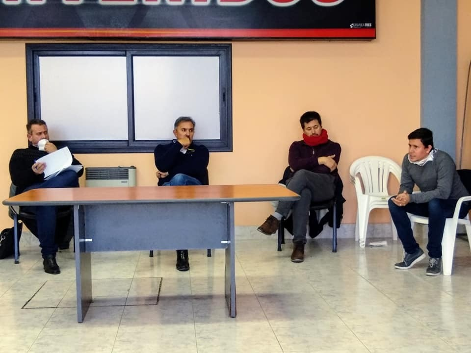 Aguilera se reunió con representantes de la Unión Industrial de Olavarría