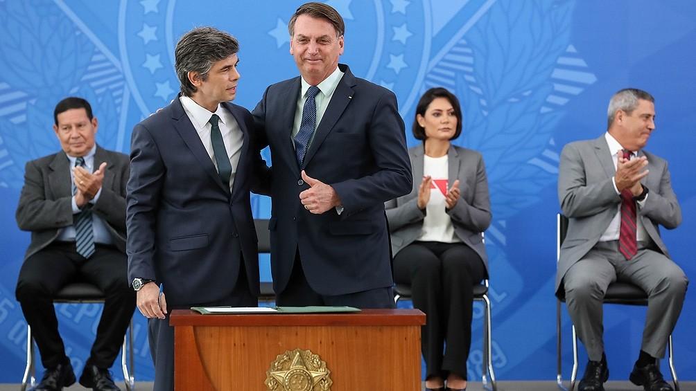 Renunció el ministro de Salud de Brasil, tras sólo 28 días en el cargo