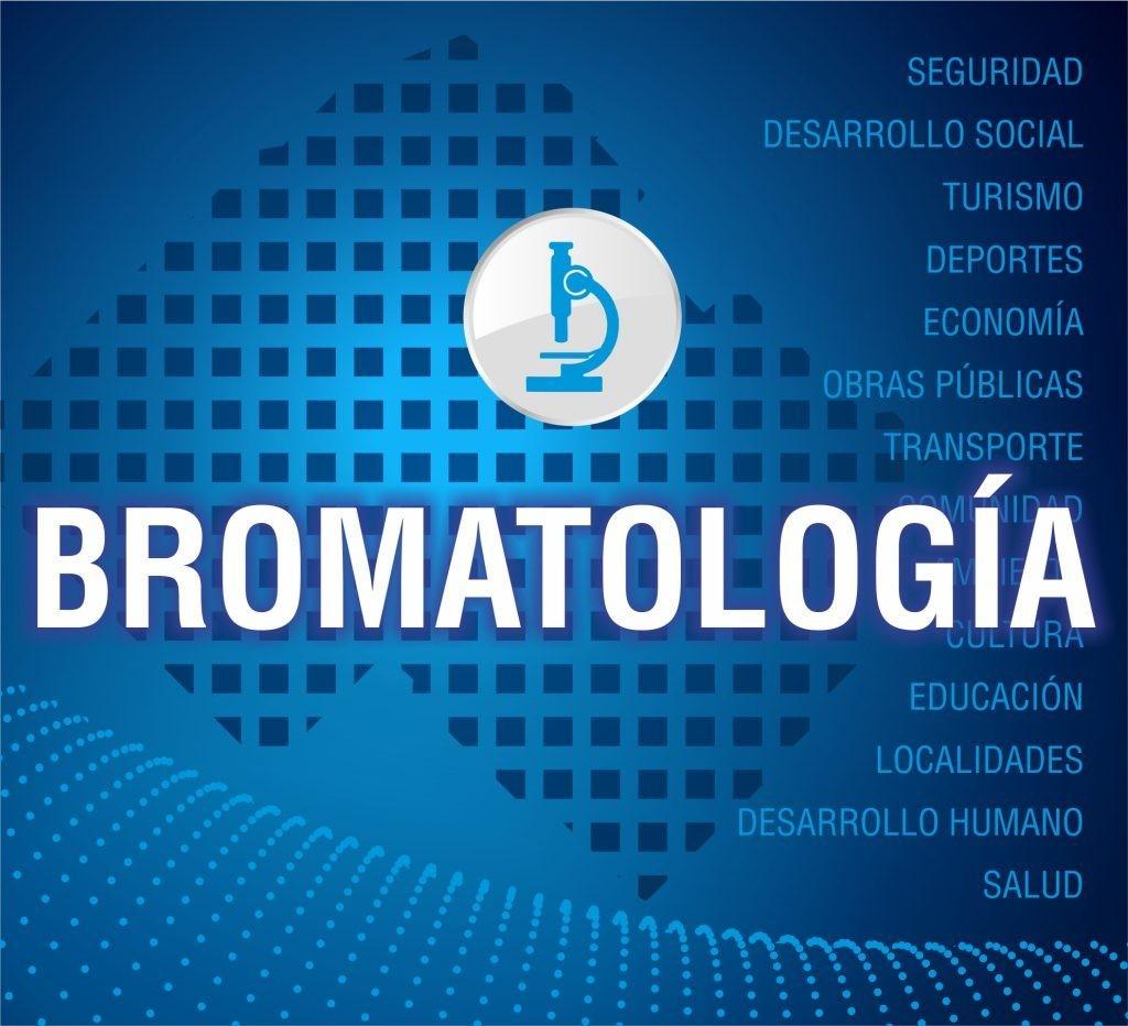 Inspección de transporte de sustancias alimenticias en Bromatología