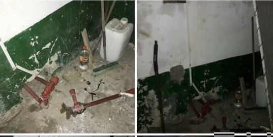Robaron una bomba en el Club Villa Mi Serranía y reclaman luminarias