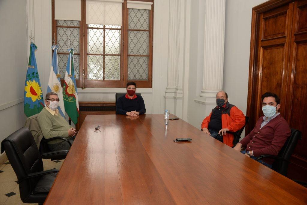 El Intendente se reunió con referentes del CECO y Cámara Empresaria