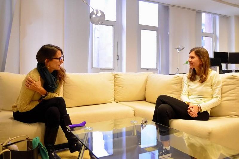 Fernanda Raverta y Elizabeth Gómez Alcorta definieron una agenda común