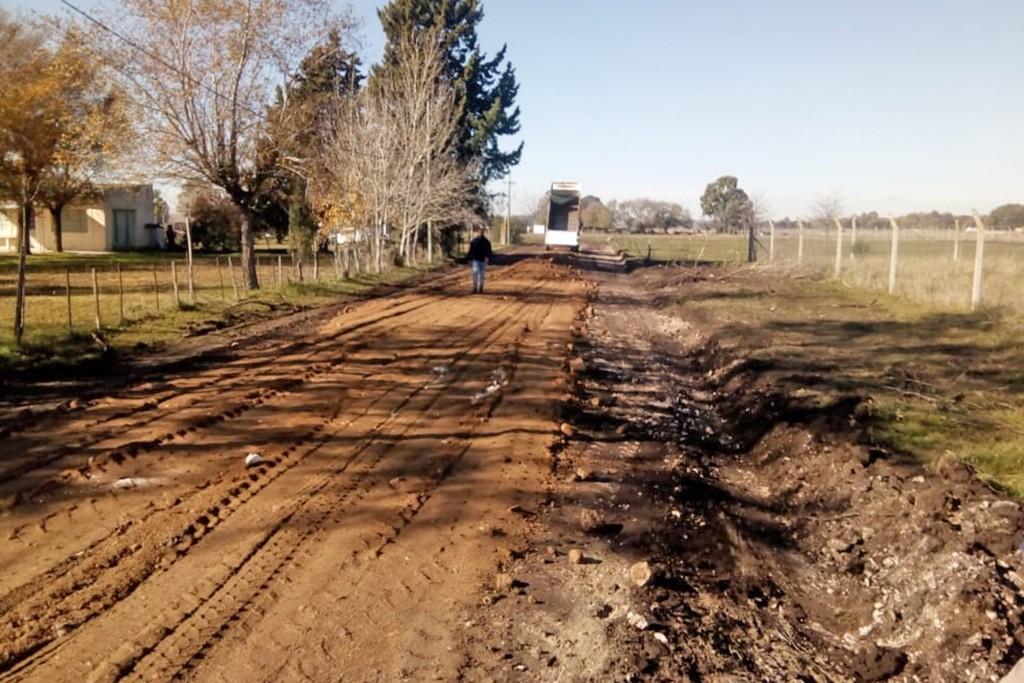 Continúan los trabajos de mantenimiento realizados por Personal de Obras Públicas