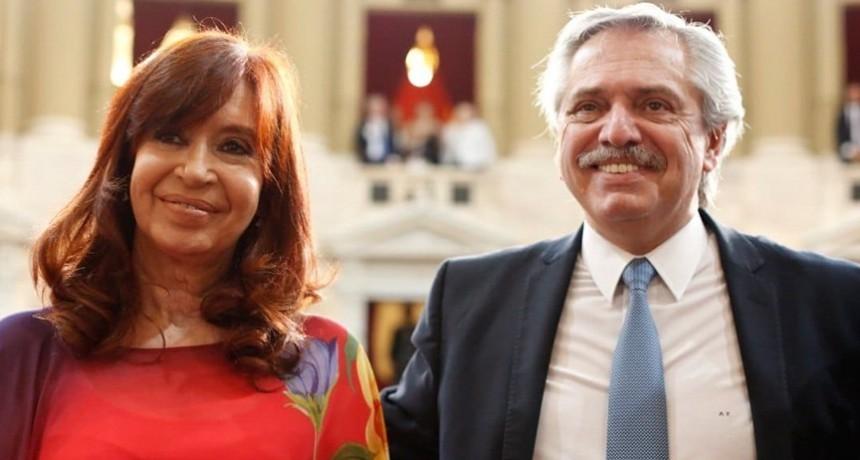 Alberto Fernández y Cristina Kirchner están reunidos en Olivos