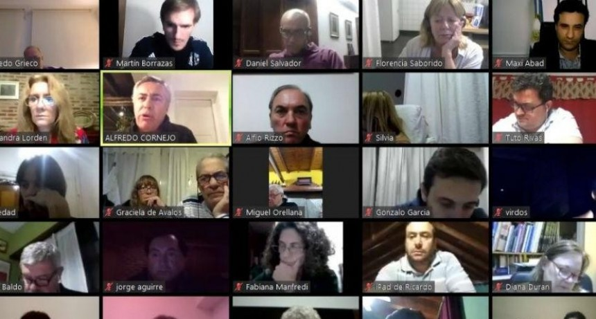 Reuniones Virtuales de la UCR