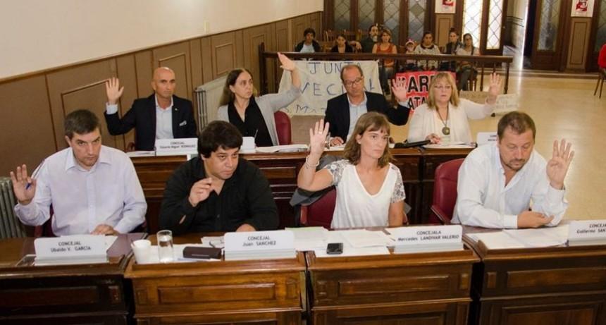 Concejo: El Frente de Todos presentó 9 proyectos