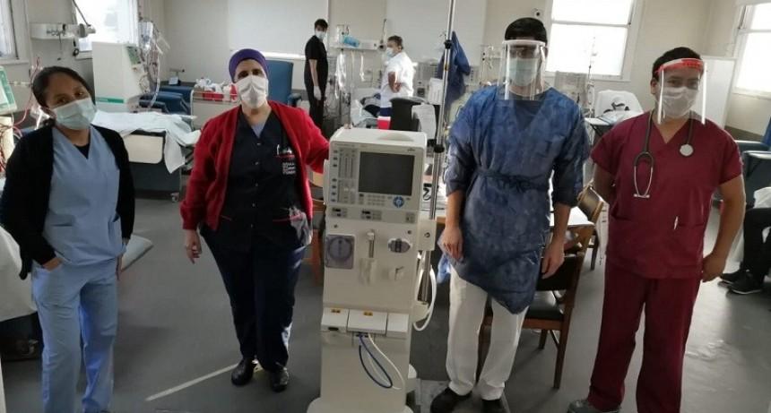La provincia entregó nuevos equipos de hemodiálisis
