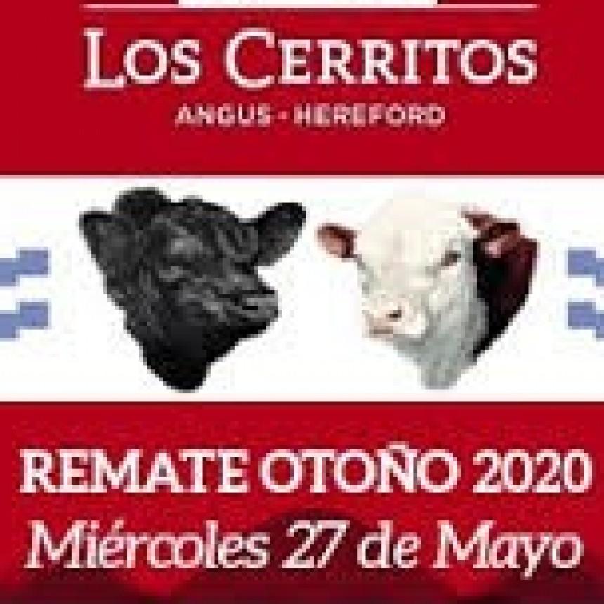 Los Cerritos con fecha miércoles 27 de mayo Remate Otoño en Azul
