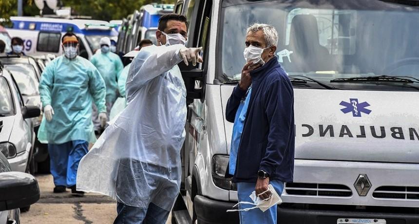 Suman 393 las víctimas fatales y 8.809 los infectados por coronavirus en Argentina