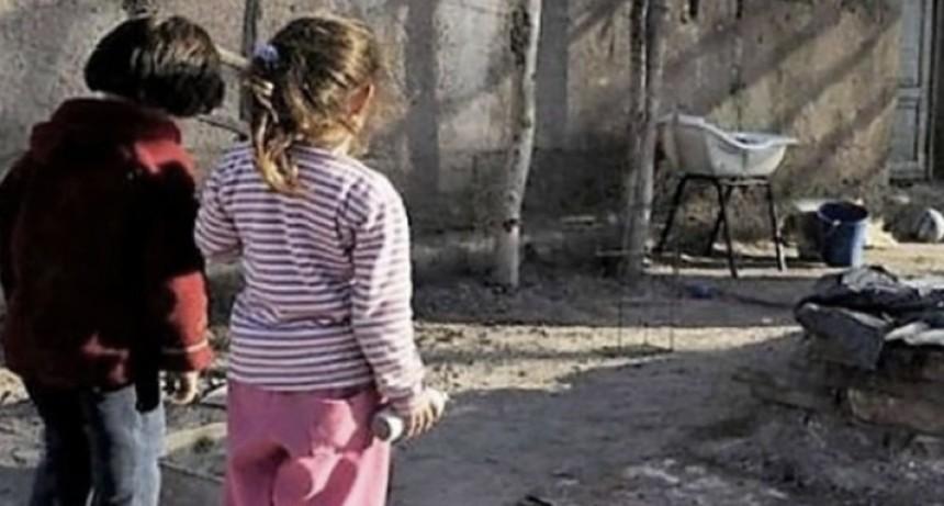 Estiman que a fines de 2020 habrá 756 mil nuevos pobres entre niños y adolescentes por la pandemia