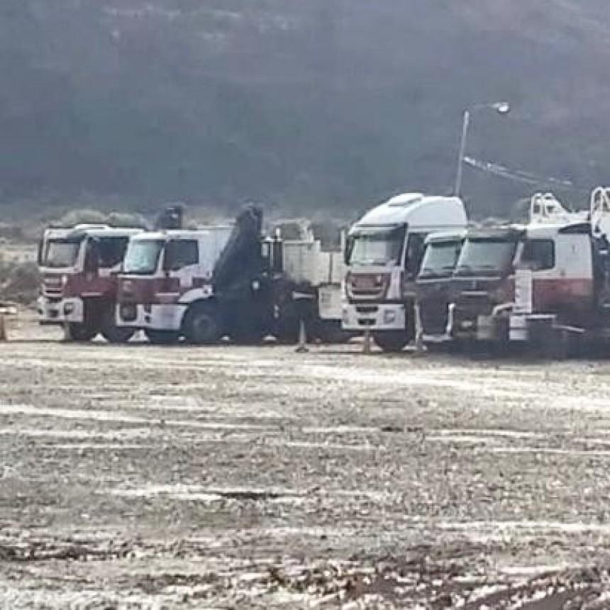 """Paro de camioneros en Neuquén: """"pretendemos que los compañeros cobren la totalidad de los salarios"""""""