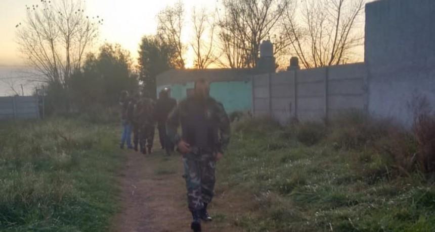 Abigeatos: Seis allanamientos en el Barrio Belén