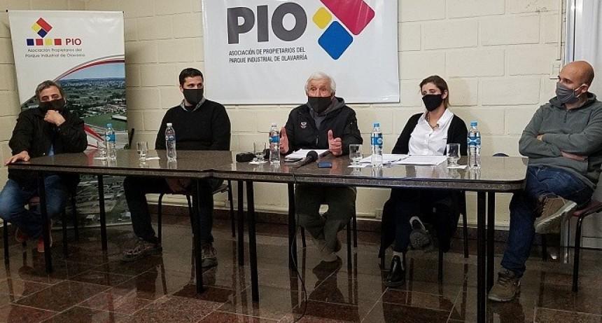 Nievas: 'Esto es inédito en el PIO'