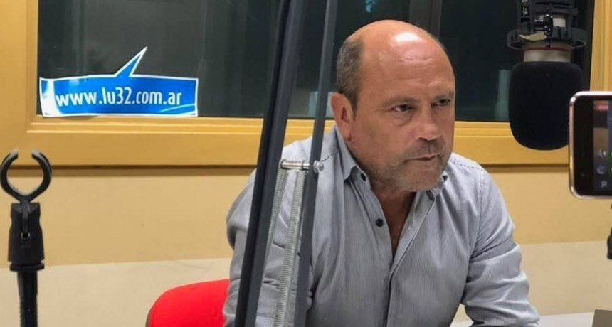 Daniel  Borra  explicó  detalladamente  cómo  es  el  protocolo  que  deben  cumplir los  camioneros  para  ingresar  a  Olavarría