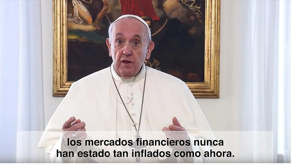 Francisco pidió 'regular estrictamente' la especulación financiera